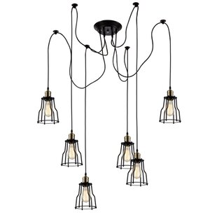 Camile 6-Light Cluster Pendant by Williston Forge