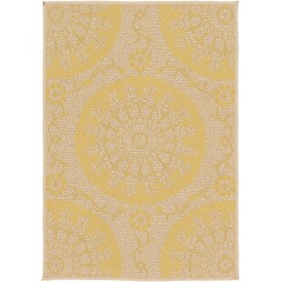 Arabian Yellow Indoor/Outdoor Area Rug