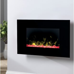 Toluca Glass Wall Optiflame Electric Fireplace By Dimplex