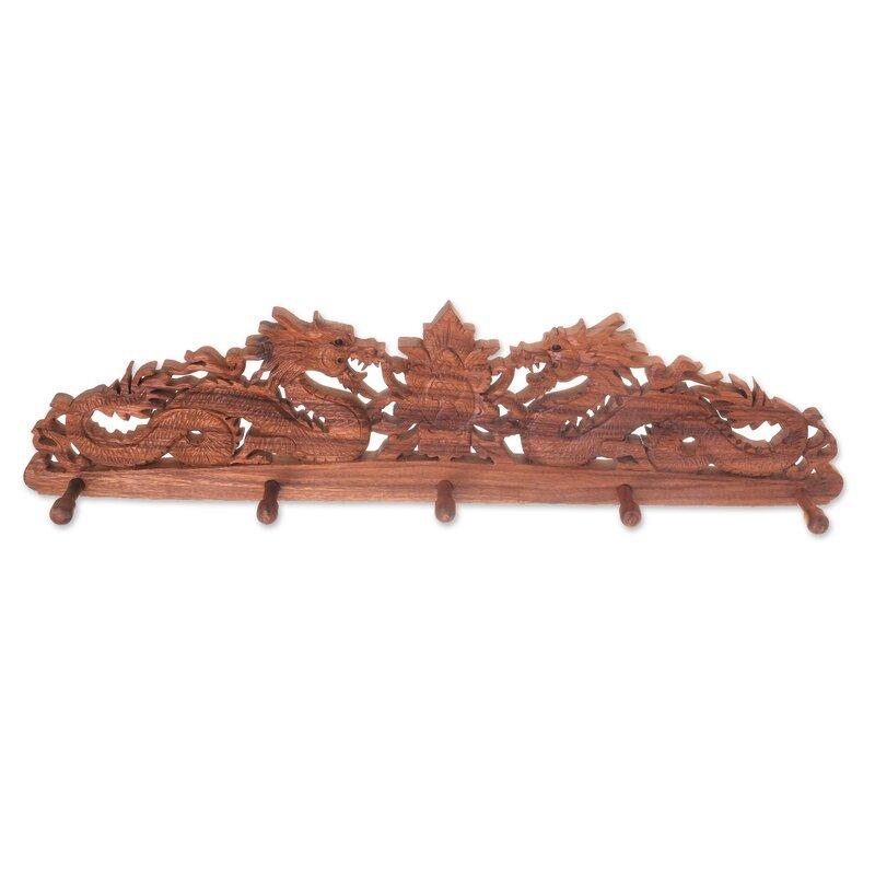 room living wood oak from racks stand coat aliexpress rack wooden hook item in hatrack com furniture on