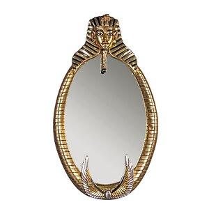 Design Toscano The Spirit of Tutankhamen: Egyptian Wall Sculpture Mirror
