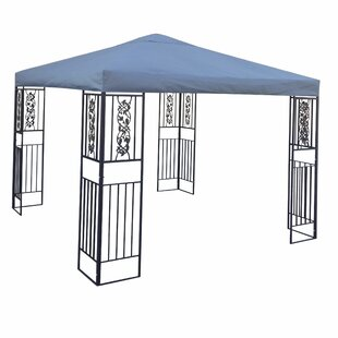 Ferrara 10 Ft. W x 10 Ft. D Steel Patio Gazebo by Home Loft Concepts