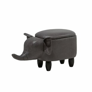 Farnborough Elephant Storage Kids Ottoman by Harriet Bee