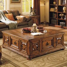 Aspen Road Square Coffee Table by Eastern Legends