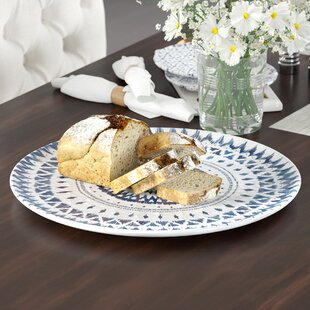 Bagby Serving Melamine Platter By Bungalow Rose