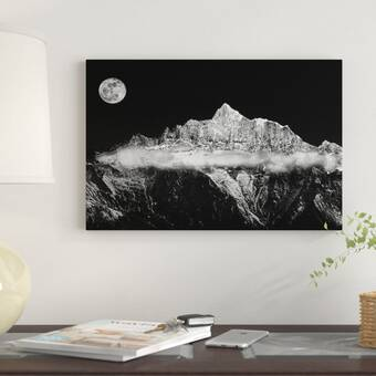 Trademark Art Quiet Lake By Philippe Hugonnard Framed Photographic Print Wayfair
