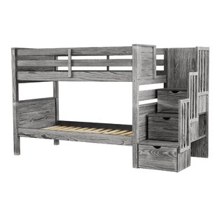 Stairway Twin over Twin Bunk Bed