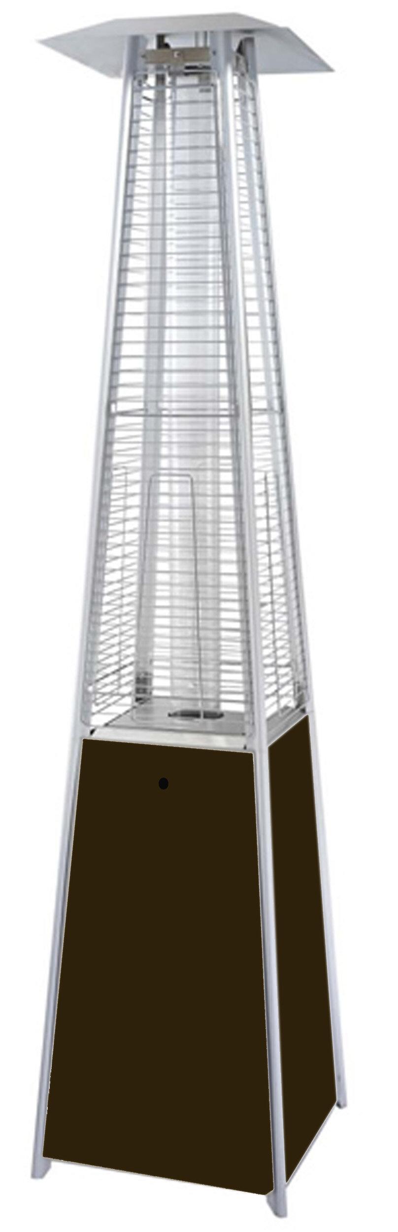 main bullet standing floor steel patio stainless gas heater
