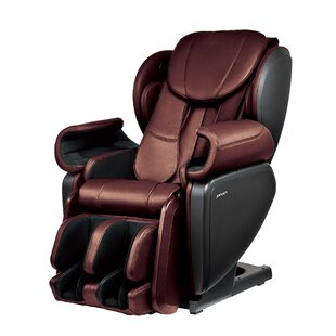 Latitude Run Ultra High Performance Deep Tissue Japanese Designed 4D Massage Chair with Ottoman