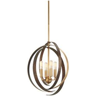 Philomena 4-Light Globe Chandelier