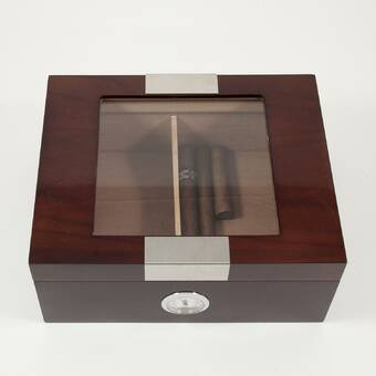 Red Barrel Studio Hollard Cigar Humidor Reviews Wayfair