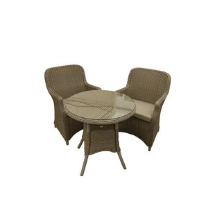 Hueytown 2 Seater Bistro Set With Cushions By Sol 72 Outdoor