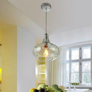Wrought Studio Render 1-Light Globe Pendant