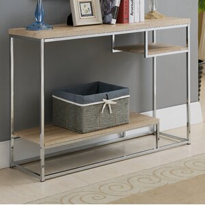 Baran Wood/Metal Console Table by Mercury Row