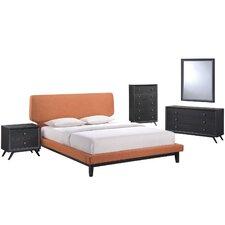 Bethany Platform 5 Piece Bedroom Set by Modway