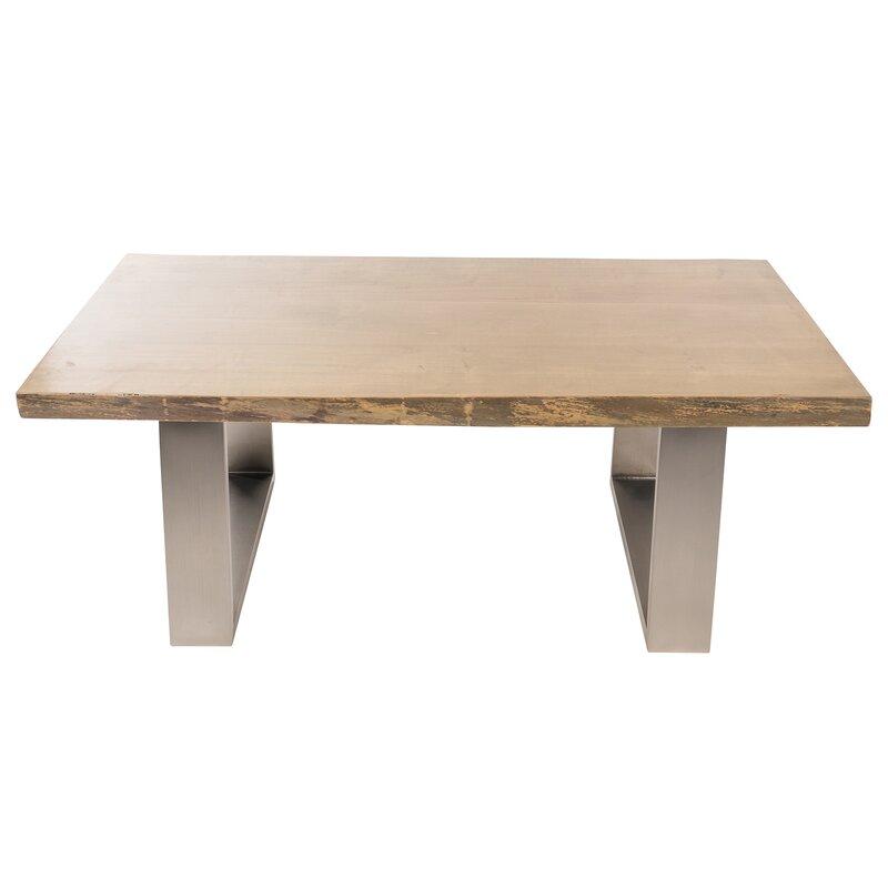 joseph allen live edge coffee table | wayfair