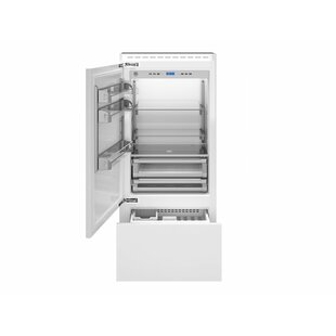 17.7 cu. ft. Counter Depth Bottom Freezer Refrigerator by Bertazzoni