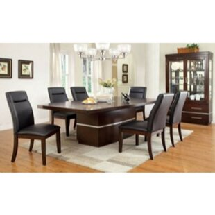 Northfleet 7 Piece Extendable Solid Wood Dining Set Orren Ellis