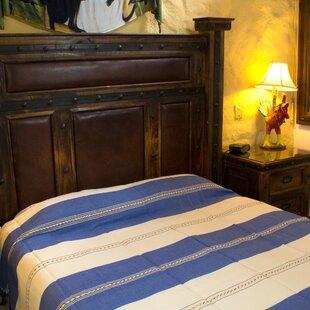 Millwood Pines Weare Joy of Oaxaca Handmade Cotton Full Bedspread