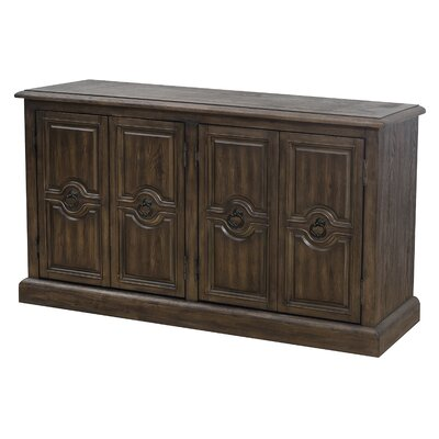 Sandwell Four Door Carved Sideboard by Alcott Hill