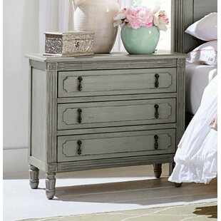 Landwehr Wooden 3 Drawer Nightstand by One Allium Way