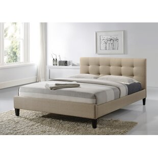 Halie Upholstered Platform Bed by World Menagerie No Copoun