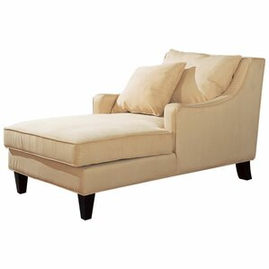 Bennie Chaise  sc 1 st  Joss u0026 Main : leather chaise lounge chair - Sectionals, Sofas & Couches
