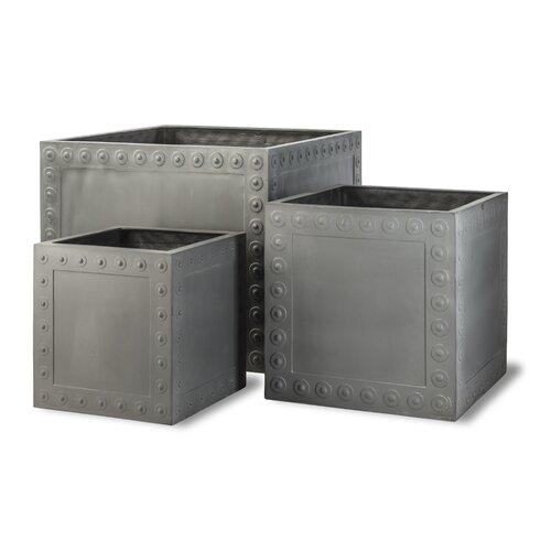 Baltimore Fiberglass Planter Box Sol 72 Outdoor Size: Medium