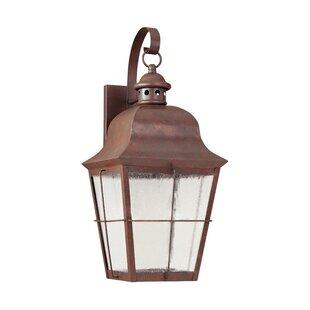 Chancellroy 1-Light Outdoor Wall Lantern By Loon Peak Outdoor Lighting