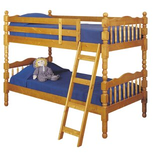 Check Prices Curtiss Twin Over Twin Bunk Bed by Harriet Bee Reviews (2019) & Buyer's Guide