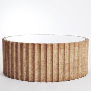 Reflective Column Coffee Table