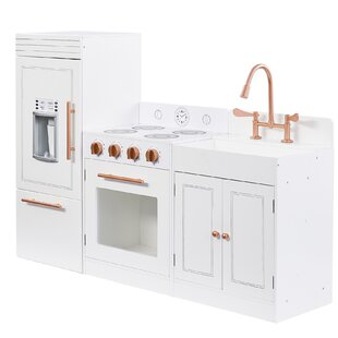 Little Chef Paris Play Kitchen Set By Teamson Kids