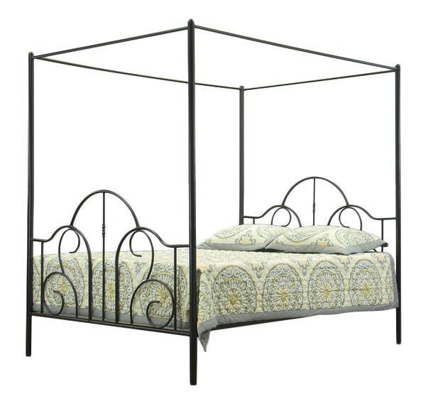 - Wholesale Interiors Baxton Studio Queen Canopy Bed & Reviews Wayfair
