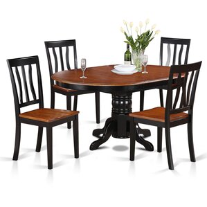 Easton 5 Piece Dining Set by Wooden Im..
