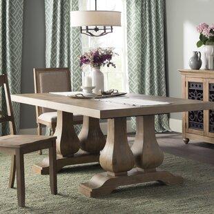 Lark Manor Grimaud Extendable Solid Wood ..