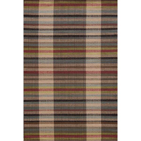 Dash And Albert Rugs Swedish Rag Striped Handmade Flatweave Brown Red Blue Beige Area Rug Reviews Wayfair