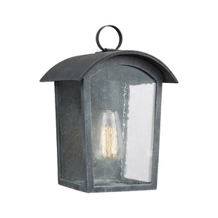Gracie Oaks Lency 1-Light Outdoor Flush Mount