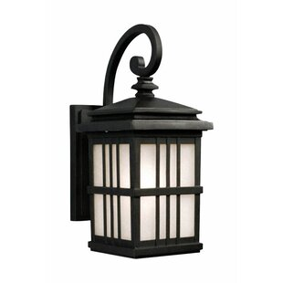 Roesch LED Outdoor Wall Lantern by Winston Porter