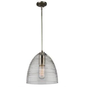 Brayden Studio Bowker 1-Light Cone Pendant