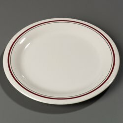 Carlisle Food Service Products Durus 9 Melamine Narrow Rim Salad Plate Wayfair