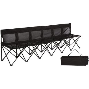 Maymie Portable Camping Bench