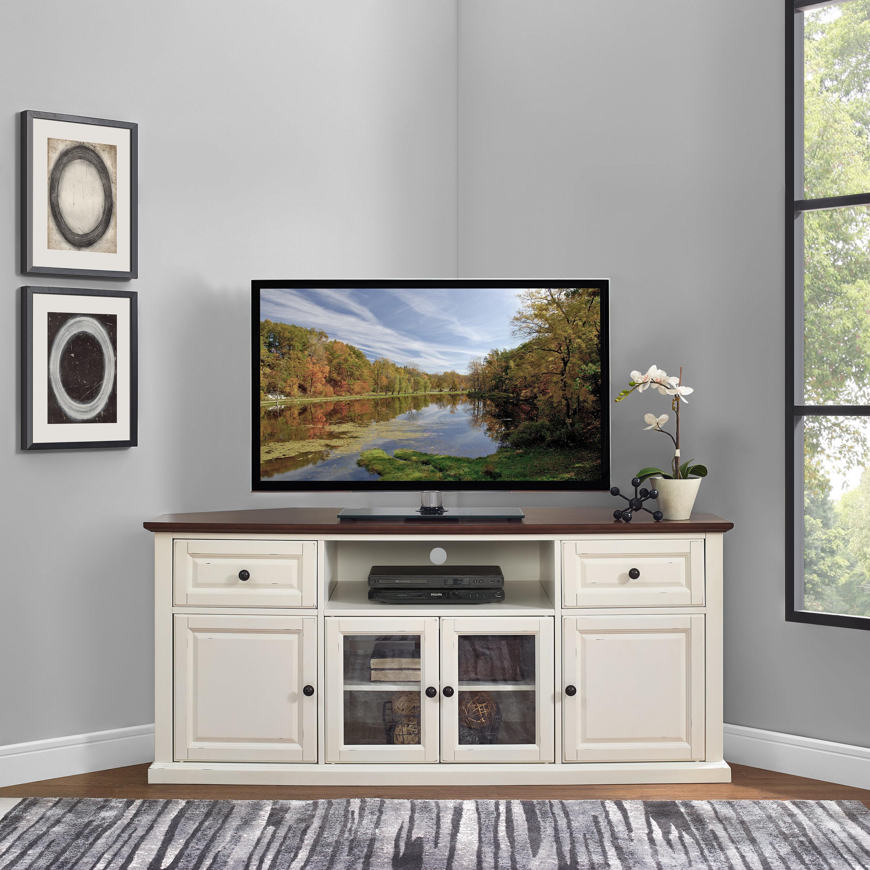 Charlton Home Whittiker Corner Tv Stand