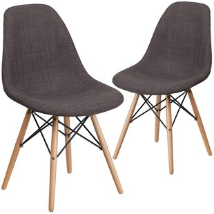 Ressler Fabric Side Chair (Set of 2) by Wrought Studio
