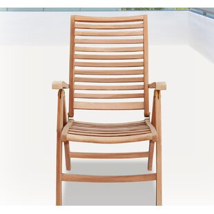 Amaya Folding Teak Patio Dining Chair