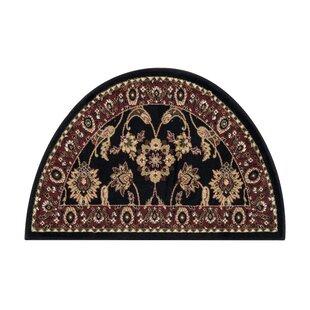 Read Reviews Fanchon Beautiful Hearth Slice Black Indoor/Outdoor Area Rug ByAstoria Grand