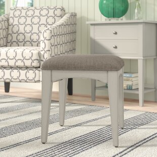 Check Prices Trenton Vanity Stool By Rosecliff Heights