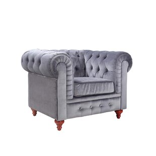 Elstone Chesterfield Chair by Willa Arlo Interiors