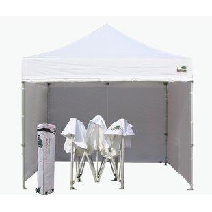 Eurmax Commercial 10 Ft. W x 10 Ft. D Steel Pop-Up Canopy