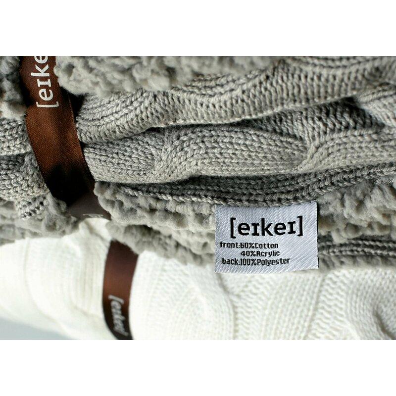 10235cda0 Sweety Pie Inc Cable Knit Sherpa Oversized Faux Sheepskin Lined Cozy ...