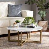 Wym Cross Legs Coffee Table by Mercer41